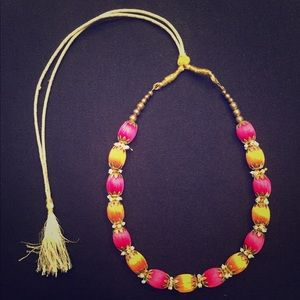 Adjustable necklace from India